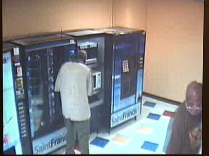 Vending Machine Bandits Hitting Tulsa