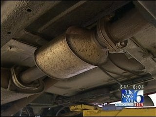 Catalytic Converter Theft On The Rise In Green Country