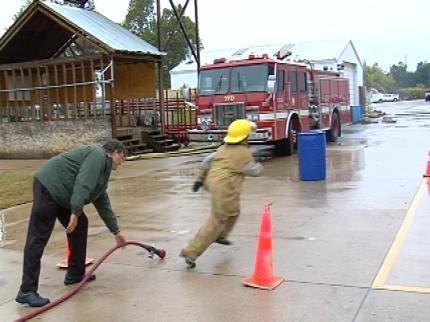 German Youth Firefighters Seek Training In Tulsa