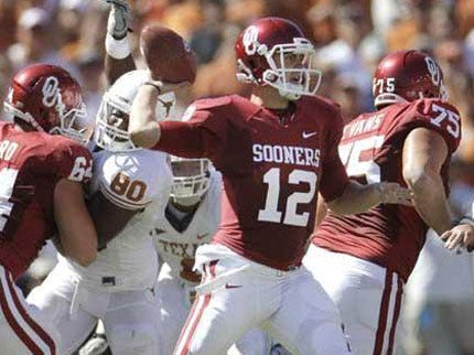 Sooners Withstand Wild Ending to Beat Texas
