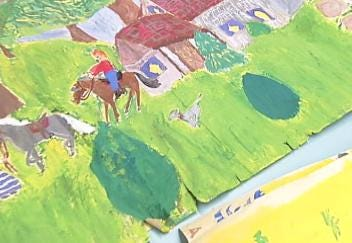 Lost And Found Discovery Brings Artist To Tulsa McKinley Elementary