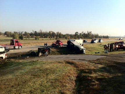 Two Injured In Collision Near Oologah