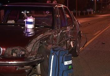 Woman Injured In Collision With Semi On Tulsa Street