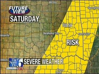 Stormy Weekend Ahead For Eastern Oklahoma