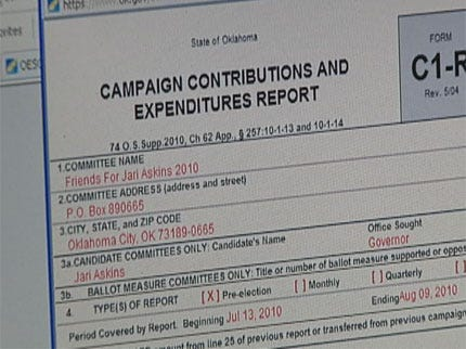 Are Special Interest Contributions Hurting or Helping Oklahoma's Political Process?