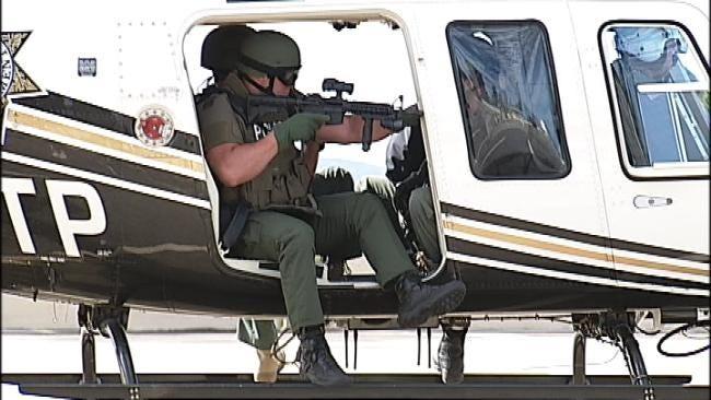 Tulsa Police Take Training Sky High
