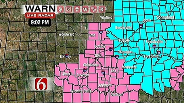 Freeze Warning In Effect For Parts Of Eastern Oklahoma
