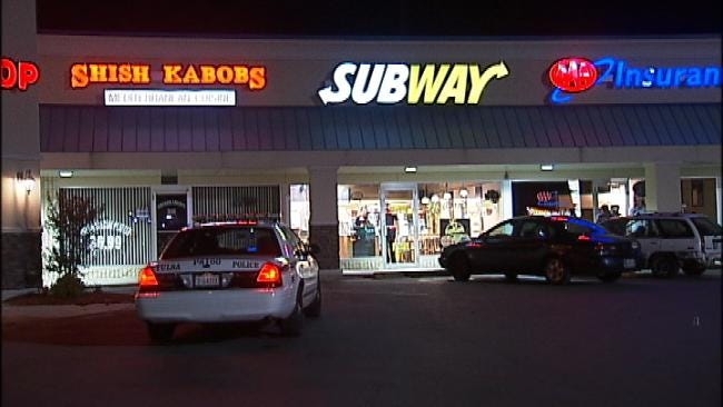 Police Seek Suspect After The Robbery Of Tulsa Subway