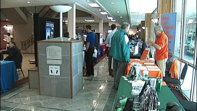 Vets Look For Work At BA Fair