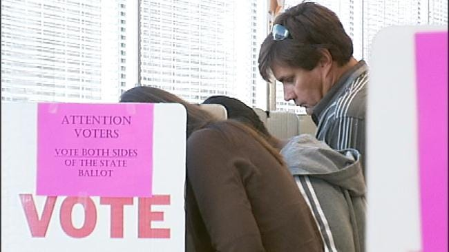 Early Voting For Next Tuesday's General Election Now Underway