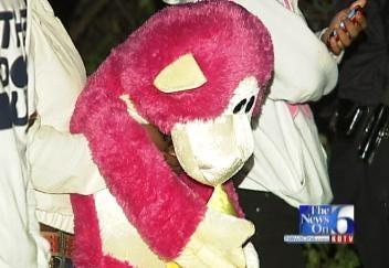 Tulsa Fairgoers, Stuffed Monkey Survive Rollover Crash