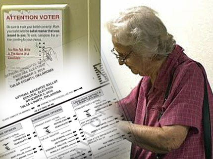 Sample Ballots Released For Tulsa County Election