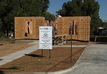Tulsa's Habitat For Humanity Building First 'Green' Home