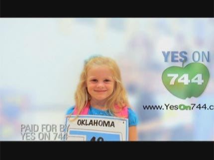 Oklahoma Hospital Group Comes Out Against SQ 744