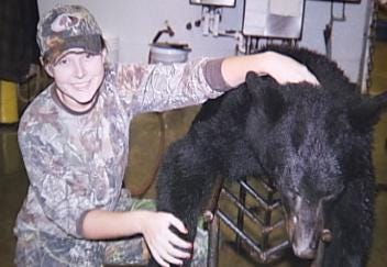Poteau Teenager Is First Female To Kill A Bear During State's Hunting Season