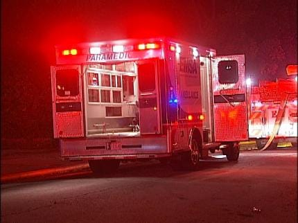 Three People Injured As Fire Destroys Tulsa Duplex Early Wednesday