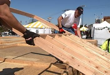 Habitat For Humanity Home Almost Finished At Tulsa State Fair