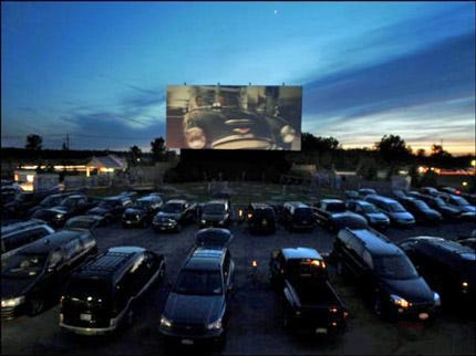 Tulsa's Admiral Twin Drive-In Gets Help From Theater In New York State
