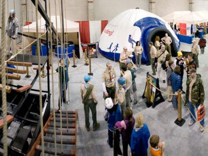 Fairgoers Can Experience 'Adventure Base 100' Scouting Exhibit