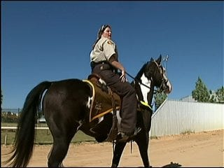 Tulsa County Sheriff's Office: Be Mindful Of Mounted Patrol