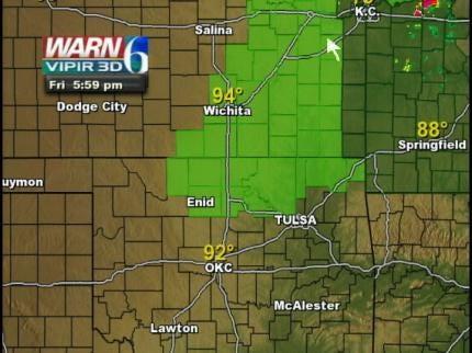 Parts Of Northern Oklahoma Under Tornado Watch Friday Night