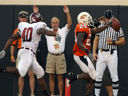 Oklahoma State Cowboys Survive Against Troy