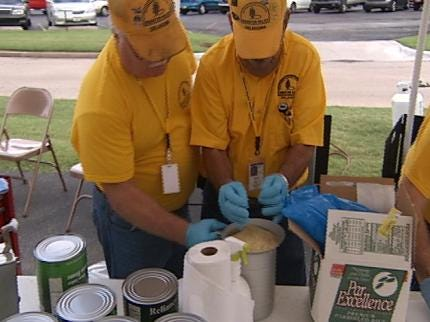Oklahoma Volunteers Train To Provide Disaster Relief