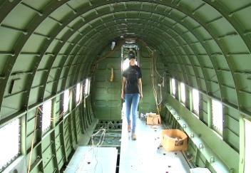 Historic C-47 Being Restored in Bristow