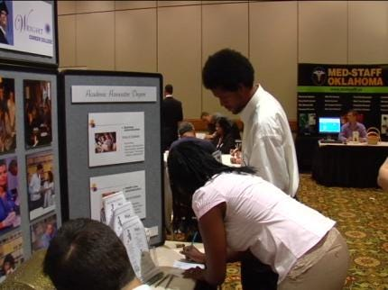 Job Seekers Connect With Employers At Tulsa Job Fair