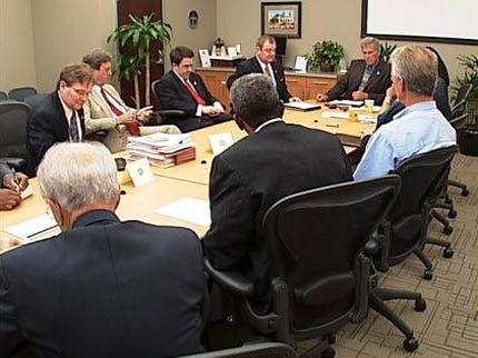 Tulsa Mayor And City Council Discussing Peace Talks
