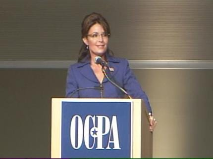 Sarah Palin Rallies Tulsa Area Conservatives Wednesday Night