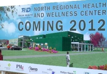Tulsa Health Department Breaks Ground on North Regional Health and Wellness Center