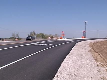 111th Street Bridge Over Highway 75 In Jenks Open