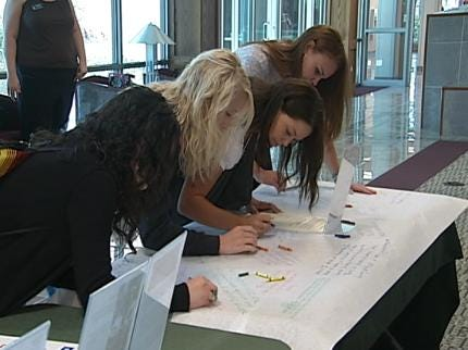 Green Country College Students Define Democracy