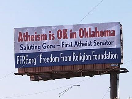 Atheists, Believers Battle It Out On Tulsa Billboards