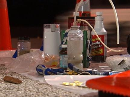 Tulsa Police: Mobile Meth Labs A Growing Problem