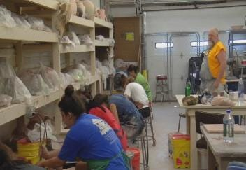 Tulsa's 3rd Street Clayworks Makes Pottery And Ceramic Artists As Well