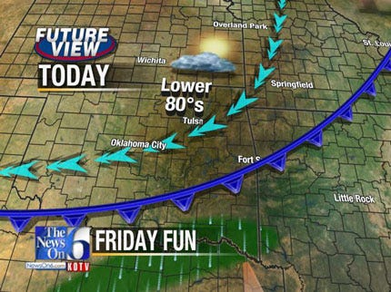 Cold Front Brings Rain And Cooler Temps To NE Oklahoma
