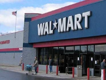 It Was Cash Only At Walmarts In Oklahoma, Nationwide Thursday Morning
