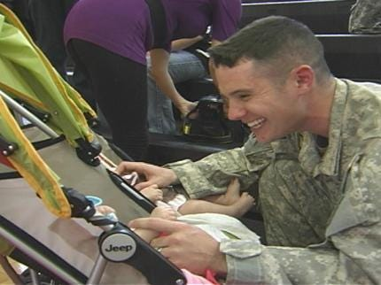 Tulsa-Based National Guard Soldiers Back In Oklahoma From Iraq