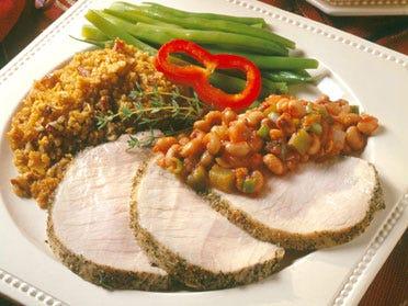 Boneless Pork Loin Roast with Herbed Pepper Rub