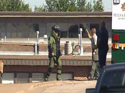 Pipe Bomb Found In Sapulpa School Classroom Was Inert