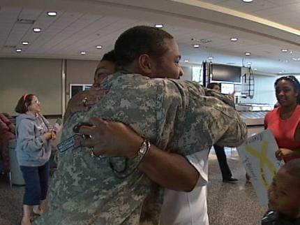 Green Country Soldier Returns Home To Tulsa