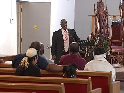 Tulsans Preaching Anti-Violence, Fed Up With Crimes In Community
