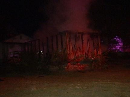 Sand Springs Storage Building Destroyed By Fire