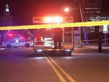 Beating Victim Taken To Tulsa Hospital After Found Lying In The Street