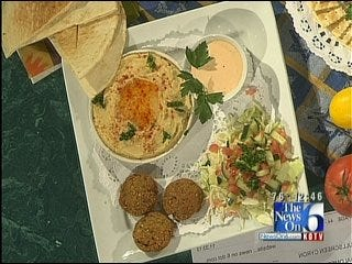 Falafel And Israeli Salad