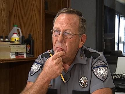 Pawnee County Sheriff Suspended From Office