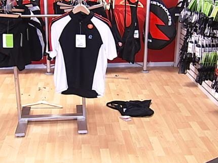 Thousands Of Dollars In Bicycles And Related Clothing Stolen From Tulsa Store