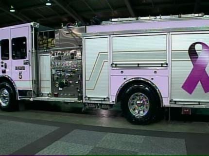 Tulsa Fire Department Goes 'Pink'